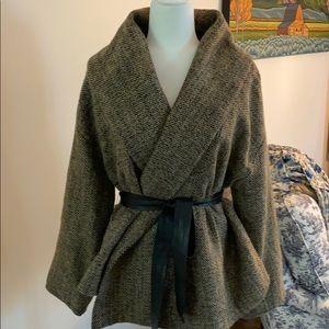 BB Dakota fall tweed coat